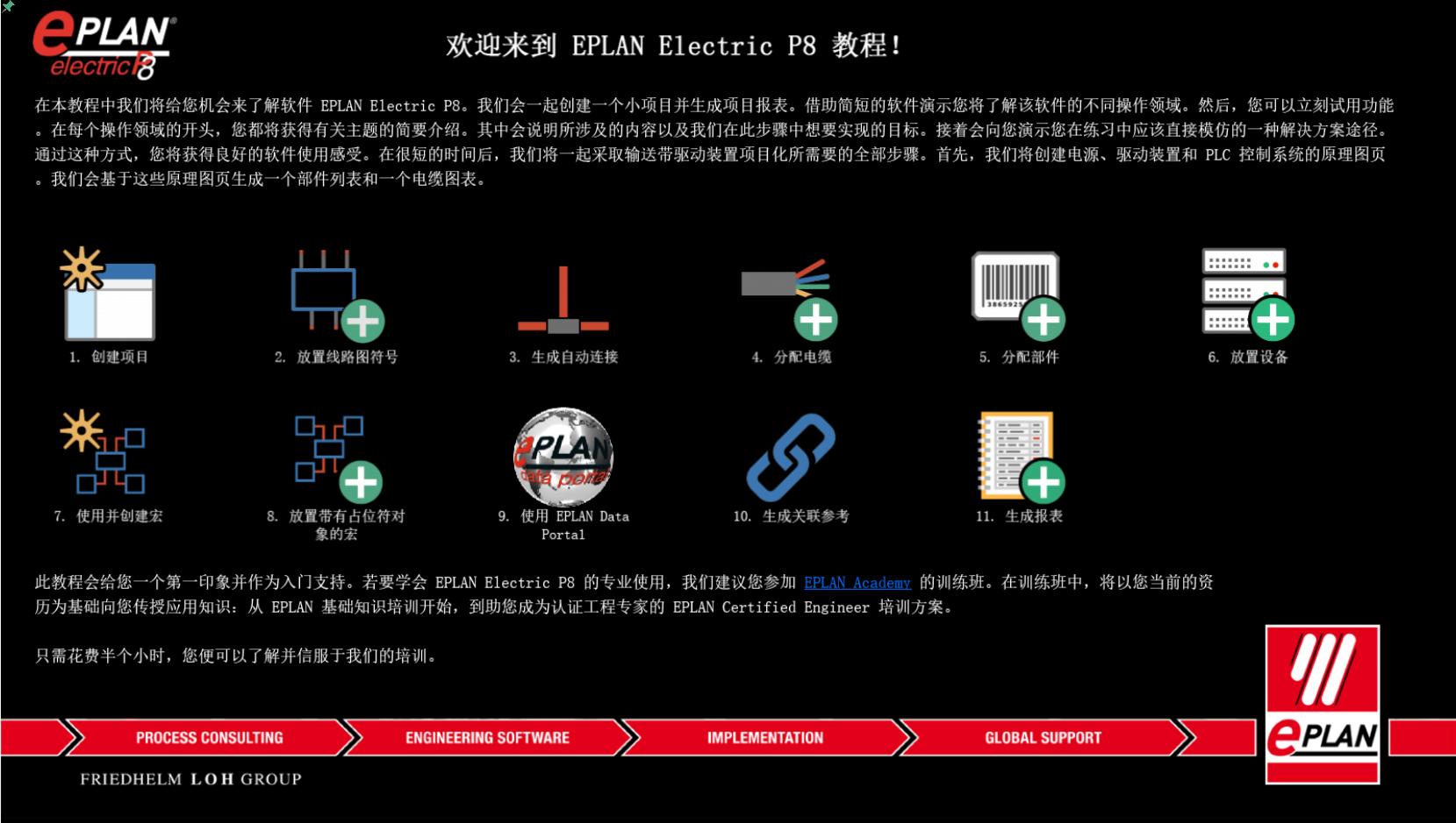 EPLAN Electric P8 官方入门教程