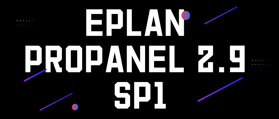 EPLAN Pro Panel, Version 2.9 SP1