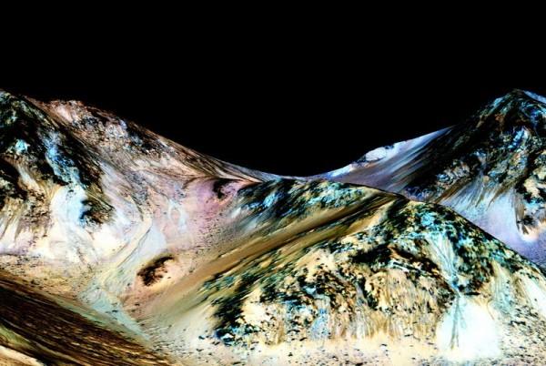 重大发现!!!NASA已经确认在火星发现液态水存在的证据